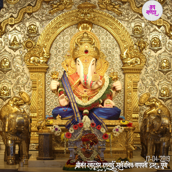 Dagdusheth-Ganpati-17 -April -  2019
