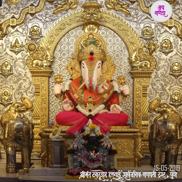 Dagdusheth-Ganpati-15 May-2019